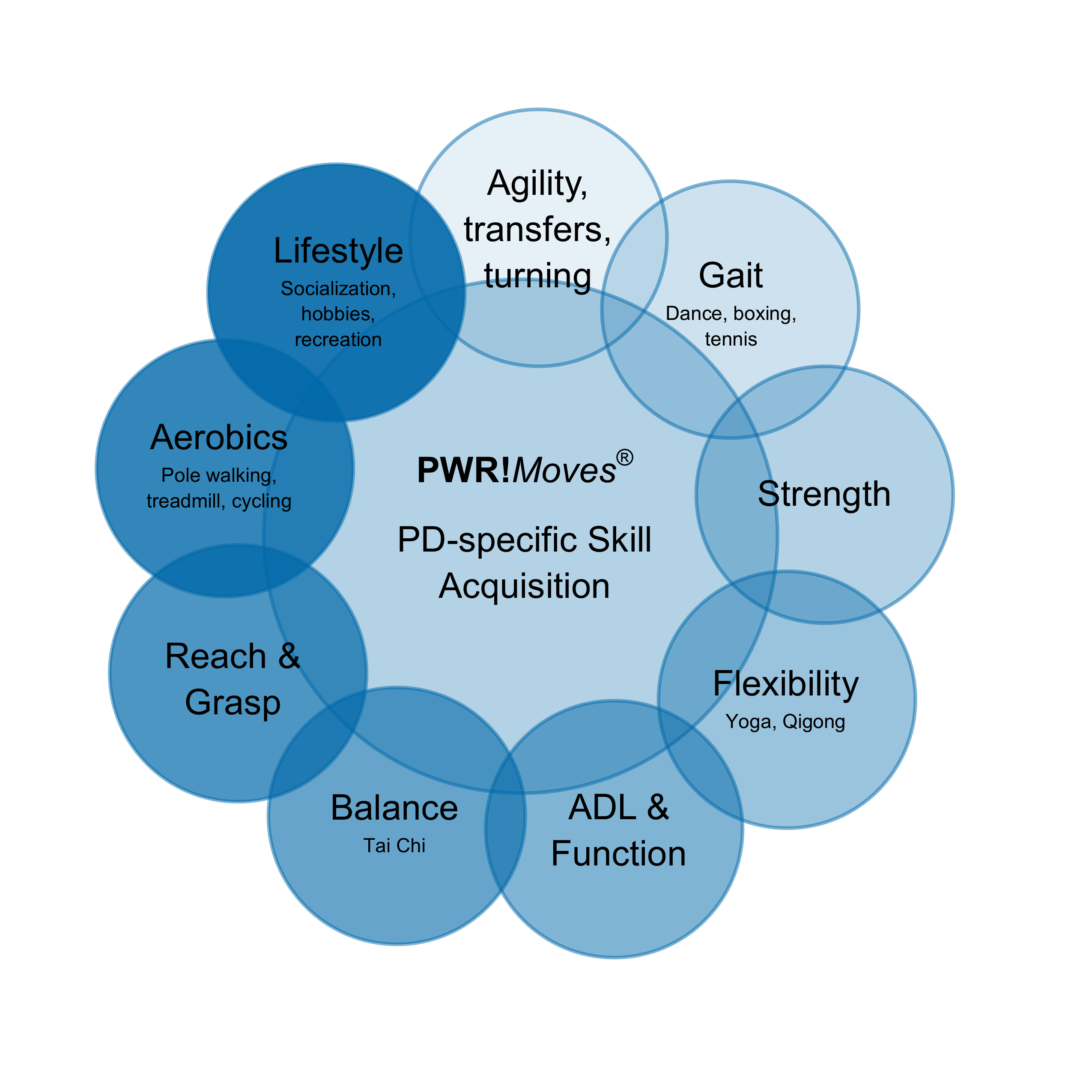 Additional Materials - PWR!Moves PD-specific Skill Acquisition venn diagram 6.14.19